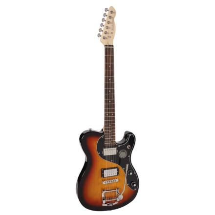 Gitara elektryczna Richwood Buckaroo Deluxe Tremola REG-375-3SB